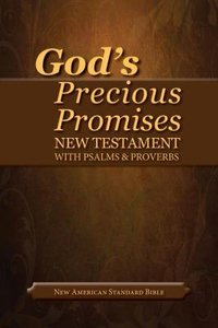 NASB Gods Precious Promises New Testament and Psalms and Proverbs Black