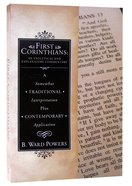 First Corinthians: An Exegetical And Explanatory Commentary