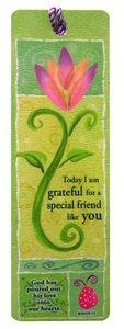 Tassel Bookmark: Today I Am Grateful