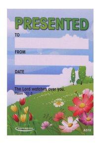 Presented Label: Field Flowers (50 Pack)