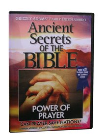 Ancient Secrets 3 #08: Power of Prayer (#08 in Ancient Secrets Of The Bible Dvd Series)