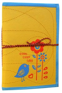 Large Journal Dream Yellow/Blue (Empowering The Poor Series)