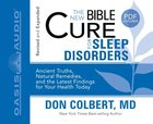 For Sleep Disorders (Unabridged, 2 CDS) (The New Bible Cure Series)