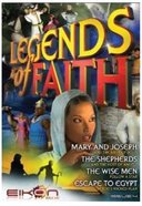 Mary and Joseph, Shepherds, Wise Men, Escape to Egypt (#04 in Legends Of Faith Comic Book Series)