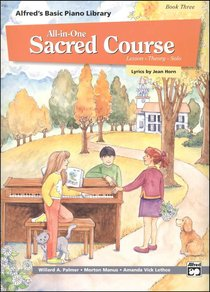 Alfreds Basic All-In-One Sacred Course For Children Book 3 (Music Book)