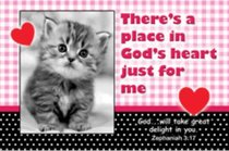 Poster Small: Theres a Place in Gods Heart Just For Me