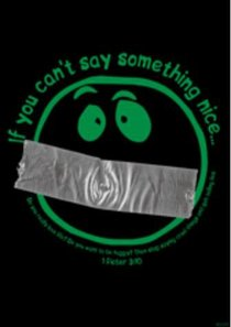 Poster Large: If You Cant Say Something Nice