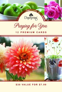 Boxed Cards Praying For You: Scripture Treasures (High Gloss)