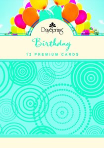 Boxed Cards Birthday: Lets Celebrate