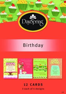 Boxed Cards Birthday: Scripture Treasures
