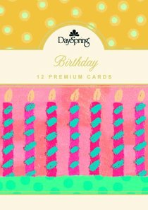 Boxed Cards Birthday: Birthday Celebrate