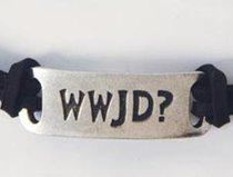 Adjustable Bracelet: Wwjd