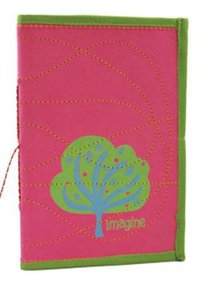 Large Journal Imagine Pink/Green (Empowering The Poor Series)