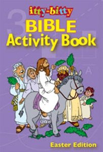 Activity Book Easter (Itty Bitty Bible Series)