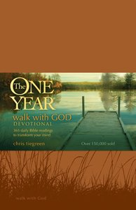 Walk With God Devotional (One Year Series)