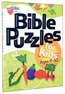 Bible Puzzles For Kids (Ages 8-10) (Heartshaper Series)