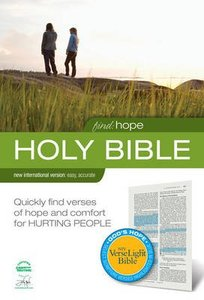 NIV Find Hope Verselight Bible