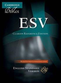 ESV Cambridge Clarion Reference Black Goatskin