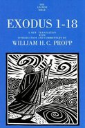 Exodus 1-18 (Anchor Yale Bible Commentaries Series)