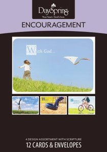 Boxed Cards Encouragment: Carefree
