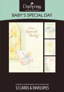 Boxed Cards Babys Special Day: Baby Dedication & Baptism