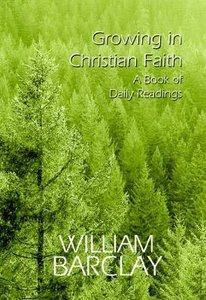 Growing in Christian Faith
