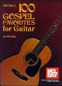 100 Gospel Favorites For Guitar (Music Book)