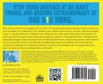 One Big Thing (Unabridged 4cds)