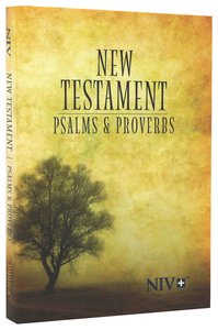 NIV Pocket New Testament With Psalms & Proverbs: Tree