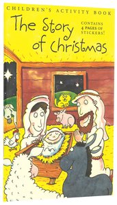 Sticker Activity Book: The Story of Christmas