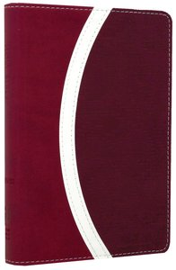 NIV Compact Thinline Bible Razzleberry/Plum Duo-Tone (Red Letter Edition)