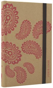 NIV Thinline Craft Bible Pink Paisley (Red Letter Edition)