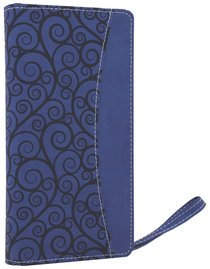 NIV Clutch Bible Blueberry Duo-Tone (Red Letter Edition)