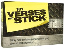 101 Verses That Stick: NIV Boys Bible (Sticky Notes)