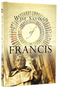Wise Saying of St Francis