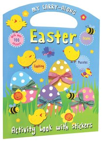 My Carry Along Easter Activity Book With Stickers