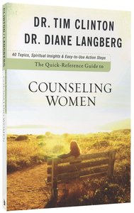 Quick-Reference Guide to Counseling Women