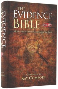 NKJV the New Evidence Study Bible (Red Letter Edition)