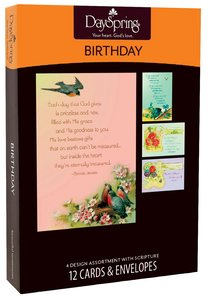 Boxed Cards Birthday: Victorian Blessings