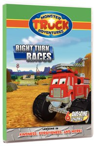 Right Turn Races (Monster Truck Adventures Series)