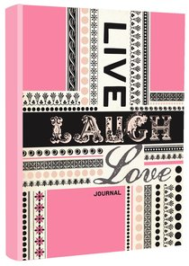 Journal: Live, Laugh, Love