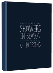 Journal: Showers in Season of Blessing, Dark Blue