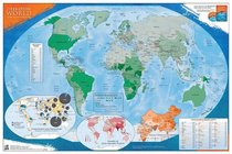 Operation World Prayer Wall Map (Folded)