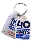 40 Days in the Word: Keytags (25 Pack)