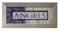 Keepsake Mdf Framed Art: Angels
