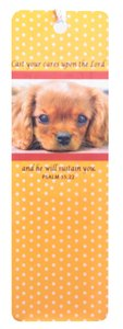 Tassel Bookmark: Cast Your Cares Upon the Lord