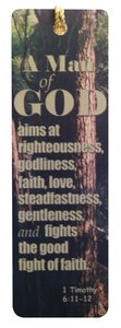 Tassel Bookmark: A Man of God