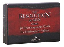 Courageous: The Resolution Daily Encouragement Cards For Men, 40 Cards