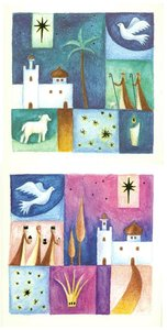 Christmas Boxed Cards: Christmas Squares