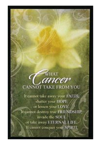 Hope Collection: Magnet - Cancer Yellow